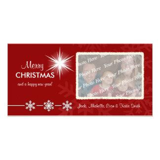 Cartes photos customisés par vacances de Noël Photocartes Personnalisées