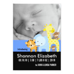 Cartes photos de faire-part de naissance de bébé carton d'invitation  12,7 cm x 17,78 cm