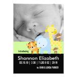 Cartes photos de faire-part de naissance de bébé