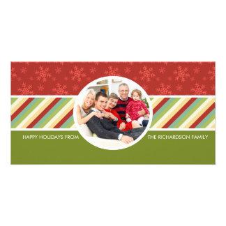 Cartes photos de fête de famille de vacances photocarte personnalisée