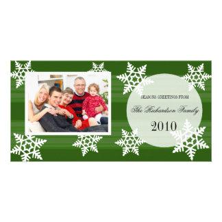 Cartes photos de fête de famille de vacances d'aut photocartes personnalisées