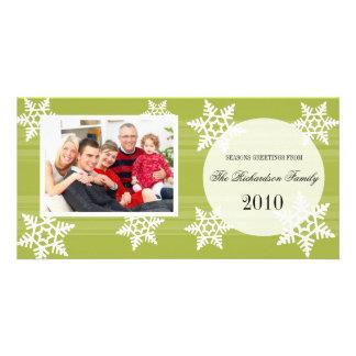 Cartes photos de fête de famille de vacances d'aut photocarte personnalisée