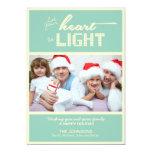 Cartes photos de vacances de Noël Bristols Personnalisés