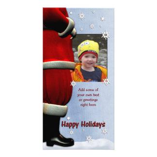 Cartes photos de vacances de Père Noël Photocarte Customisée