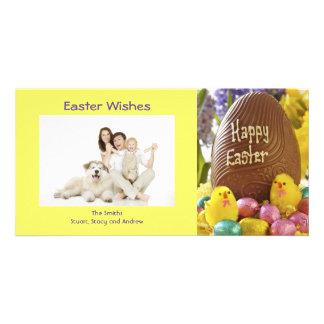 Cartes photos heureux de Pâques