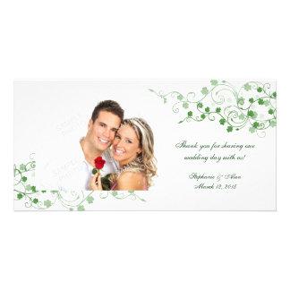 Cartes photos irlandais de Merci de mariage de Cartes Avec Photo