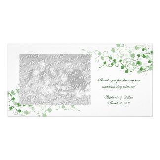 Cartes photos irlandais de Merci de mariage de trè Photocarte Personnalisée