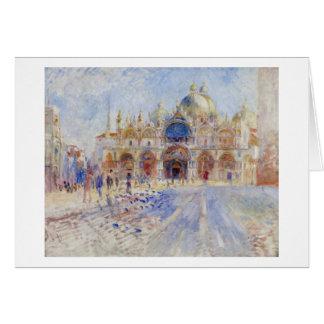 Cartes Piazza San Marco, Venise, 1881 (huile sur la