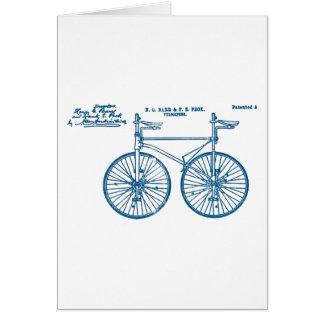 Cartes Picotin tandem du vélo sur rail 1891 de vélo