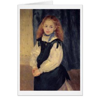Cartes Pierre un portrait de Renoir | de Mademoiselle
