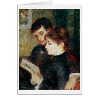 Cartes Pierre une lecture de couples de Renoir |