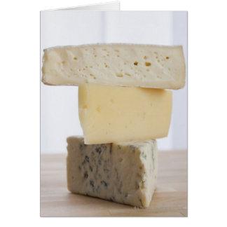 Cartes Pile de fromage