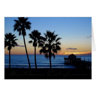 Cartes Pilier californien du sud