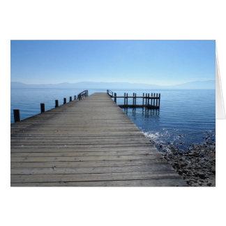 Cartes Pilier du lac Tahoe