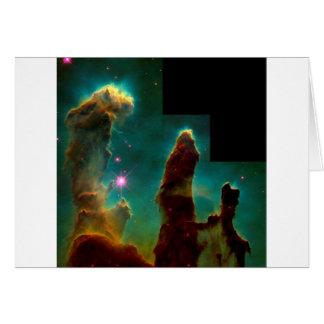 Cartes Piliers de création - image de télescope spatial