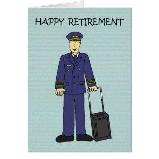 Cartes Pilote heureux de retraite