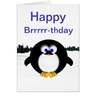 Cartes Pingouin heureux
