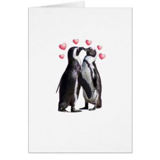Cartes Pingouin Romance