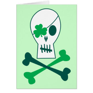 Cartes Pirate du jour de St Patrick