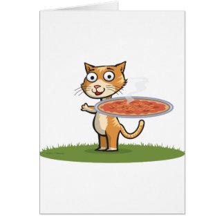 Cartes Pizza de chat