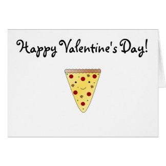 Cartes Pizza mignonne