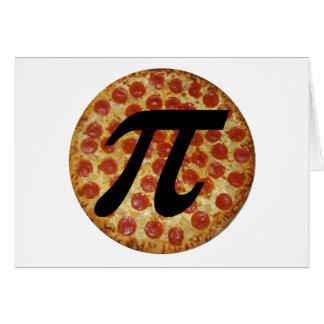 Cartes Pizza pi