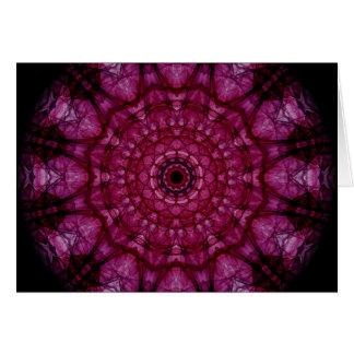 Cartes Plafond en verre rose