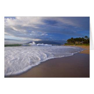 Cartes Plage de Kihei, Maui, Hawaï, Etats-Unis