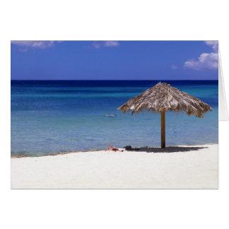 Cartes Plage de Malmok, Aruba, Antilles néerlandaises