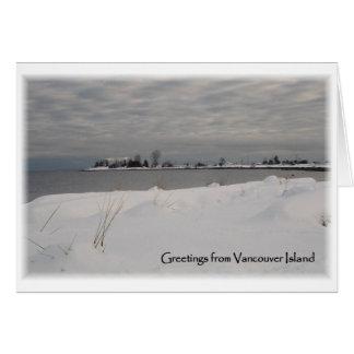 Cartes Plage de neige