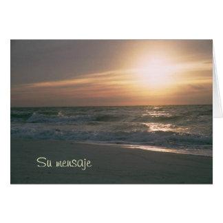 Cartes Plage d'en Pensacola de La Salida del Sol