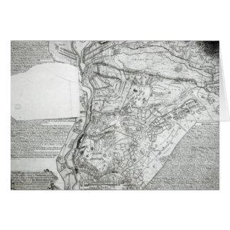 Cartes Plan de la bataille de Minden
