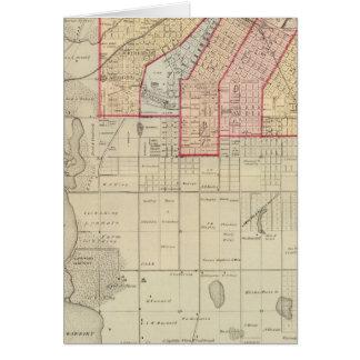 Cartes Plan de la ville de Minneapolis et de proximité