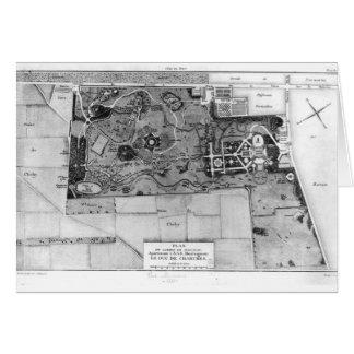 Cartes Plan de Parc Monceau à Paris