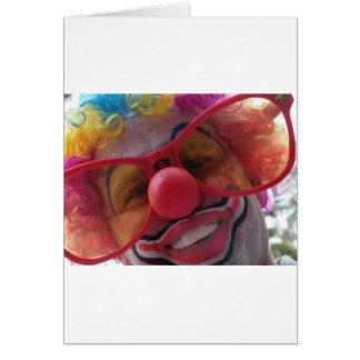 Cartes Plan rapproché de clown