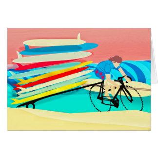 Cartes Planches de surf de transport de vélo