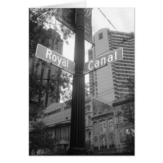 Cartes Plaque de rue de la Nouvelle-Orléans