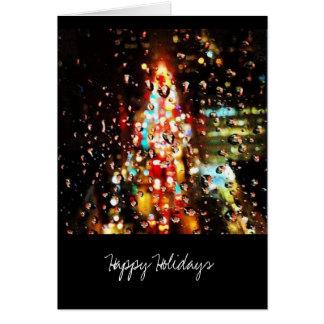 Cartes Pleuvoir la ville allume des vacances