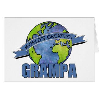 Cartes Plus grand Grampa du monde