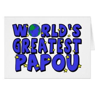 Cartes Plus grand Papou du monde