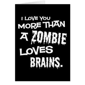 Cartes Plus qu'un zombi aime des cerveaux