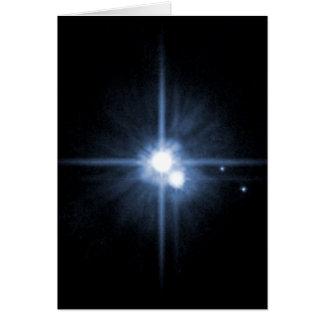 Cartes Pluton et ses lunes Charon, Nix, et hydre Unlab