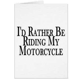 Cartes Plutôt monte ma moto