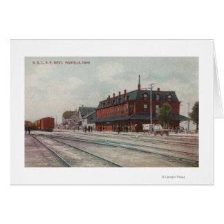 Cartes Pocatello, identification - trains et les gens