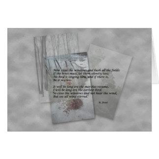 Cartes Poésie de Robert Frost