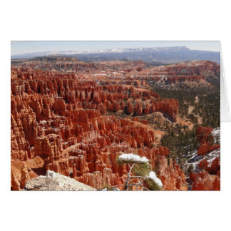 Cartes Point d'inspiration au canyon I de Bryce