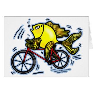 Cartes Poissons de bicyclette (vélo)