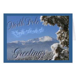 Cartes Pôle Nord, crête de brochets, le Colorado,