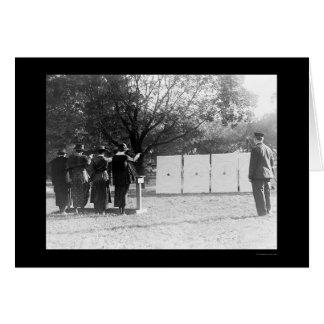Cartes Policières à la chaîne de mise à feu 1920