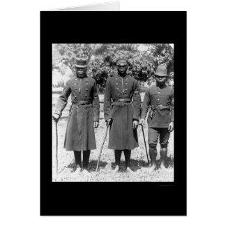 Cartes Policiers natals 1902 de l'Afrique